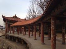 formeel rust paviljoen op weg Stock Afbeeldingen