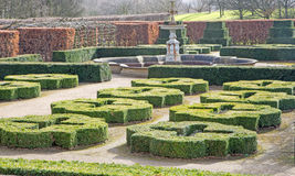 Formeel Tudor Garden stock fotografie