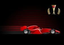 Formel 1 royaltyfri illustrationer