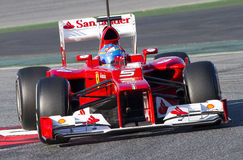 Formel 1 - Fernando Alonso Arkivfoton