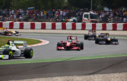 Formel 1: Ferrari Stockfotos