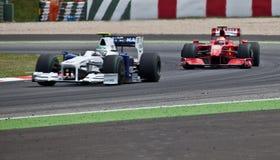 Formel 1: Ferrari Lizenzfreie Stockfotografie