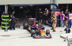 Formel 1, Jaime Alguersuari, Team Toro Rosso lizenzfreie stockbilder
