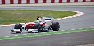 Formel 1: Toyota Lizenzfreies Stockfoto