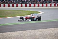 Formel 1: Toyota Lizenzfreie Stockbilder