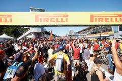 Formel 1 Lizenzfreies Stockbild