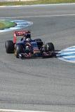 Formel 1 2015: Carlos Sainz Jr Arkivbilder