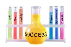 Formel des Erfolgs. lizenzfreie stockfotografie