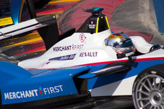 Formel E - Jean-Eric Vergne - Andretti Arkivbild