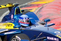 Formel E - Nicolas Prost - EDAMER Renault Royaltyfri Fotografi