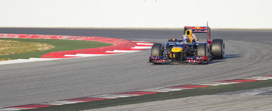 Formel en - Red Bull Royaltyfri Foto
