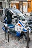 Formel 1 för BMW sparkcykel C1 200 Royaltyfria Bilder