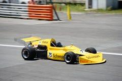 Formel 2 för mars 752 på den Monza strömkretsen Arkivfoto