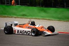 Formel 1982 för pilar A4 1 Arkivfoton