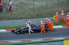 Formel 1 - Fernando Alonso Fotografering för Bildbyråer