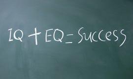 Formel für Erfolg Lizenzfreies Stockbild