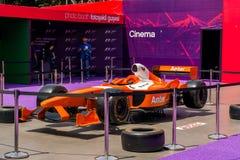 Formel 1, grand prix av Europa, Baku 2016 Arkivfoton