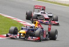 Formel 1 Grandprix Lizenzfreie Stockfotografie