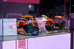 Formel 1, Grandprix von Europa, Baku Fahne 2016 Lizenzfreie Stockfotografie