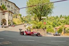 Formel Italia på Bergamo den historiska granda prixen 2017 Arkivbild