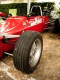 Formel Italien Fiats Abarth an Vernasca-Silber-Flagge 2017 Lizenzfreie Stockfotografie