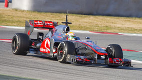 Formel 1 McLaren Arkivbild