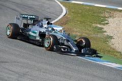 Formel 1, 2015: Nico Rosberg Fotografering för Bildbyråer
