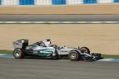 Formel 1 2015: Nico Rosberg Fotografering för Bildbyråer
