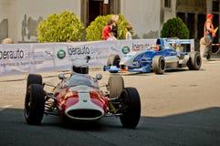 Formel 2 på Bergamo den historiska granda prixen 2017 Royaltyfri Fotografi
