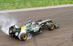 Formel 1 Petrow Lizenzfreies Stockfoto