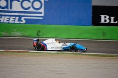 0 2 formel renault 0 billopp på Monza Arkivfoton
