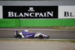 0 2 formel renault 0 billopp på Monza Royaltyfria Foton