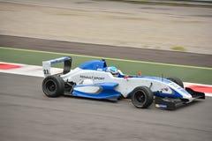 0 2 formel renault 0 bilprov på Monza Fotografering för Bildbyråer