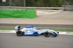 0 2 formel renault 0 bilprov på Monza Royaltyfri Fotografi