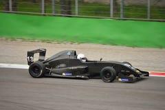0 2 formel renault 0 bilprov på Monza Arkivbild
