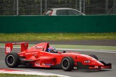 0 2 formel renault 0 bilprov på Monza Royaltyfri Foto