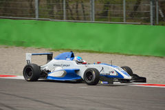 0 2 formel renault 0 bilprov på Monza Royaltyfria Bilder