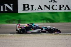 0 2 formel renault 0 nordliga europeiska kopp 2015 på Monza Arkivbild