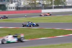Formel Renault på Silverstone Arkivfoto