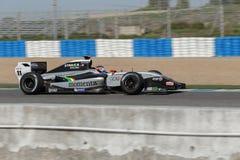 Formel Renault 3 5 Reihe 2014 - werden Sie Stevens - Strakka Laufen Lizenzfreies Stockbild
