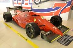 Formel 1-Rennwagen Ferraris F1 Lizenzfreie Stockfotografie
