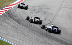 1 formel Sepang 2010 april Royaltyfri Bild