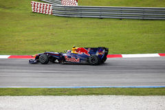 1 formel Sepang 2010 april Royaltyfri Fotografi