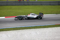1 formel Sepang 2010 april Royaltyfria Foton
