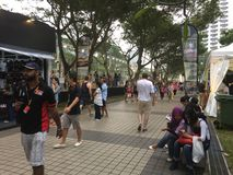 Formel 2015 Singapurs Grandprix 1, Marina Bay Singapore Lizenzfreies Stockfoto