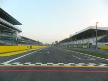 Formel 1, start och mål Royaltyfria Bilder