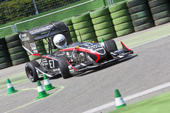 Formel-Studenten-Electronic-Rennwagen Stockfotografie