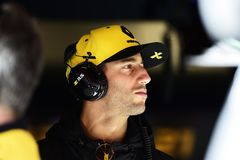 Formel 1-Test stockfoto