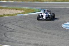 Formel 1 2015: Valtteri Bottas Fotografering för Bildbyråer