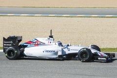 Formel 1: Valtteri Bottas Royaltyfri Bild
